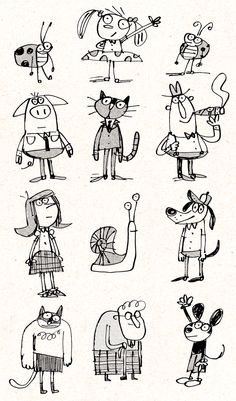 Fred Blunt Doodles ★★★ Find More inspiration @creativeelc ★★★