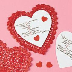 valentine card from jesus