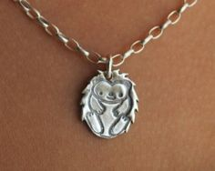hedgehog.necklace.