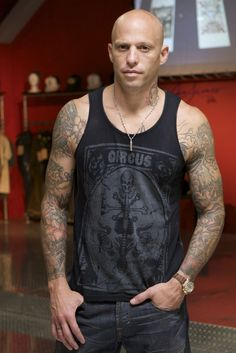 Ami James. This guy is amazing, I really want him to tattoo me someday.