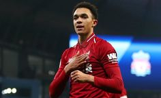 Manchester City's romp to the Premier League title last season can be used as inspiration for Liverpool, says Trent Alexander-Arnold. Ynwa Liverpool, Liverpool Football Club, Paris Saint Germain Fc, Barcelona Players, Alexander Arnold, Spanish Men, Fc Bayern Munich, One Team, Train Hard