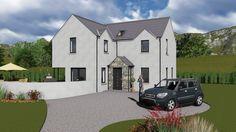 House Designs Ireland, Self Build Houses, House Blueprints, Exterior Design, Building A House, Chloe, House Plans, House Ideas, Design Ideas