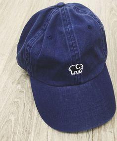ivory ella navy blue baseball cap