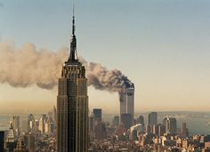 Yahoo News photographer Gordon Donovan returned this week to the scenes of many memorable images taken on September 11, 2001, closely matching them with images from today. Since then, new obstacles have arisen, requiring some adjustments in camera angles to align with photographs taken on the day of the attacks. This is the third time Donovan has revisited the New York skyline; each year presents new challenges as the landscape changes. (Yahoo News)