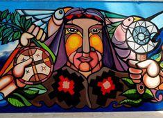 Mapuche Latino Art, Arte Pop, Happy Girls, Inktober, Painted Rocks, Bowser, Behance, Concept, Tattoos