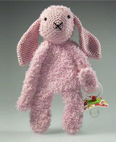 Haakpatroon speenknuffel konijn Kim #haakpatroon #hakenisleuk #crochet…