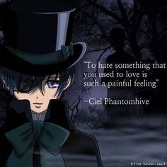 Ciel Phantomhive from black butler. #anime