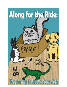 Movers.com eBook - Along for the Ride: Preparing to Move Your Pets