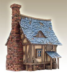 Groovy Miniature Fantasy Houses There Are Some Amazing Kits On This Largest Home Design Picture Inspirations Pitcheantrous