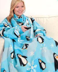 Snuggie Penguin Blanket