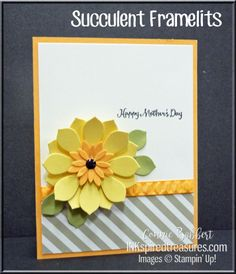 """It's Saturday and time for the Create with Connie and Mary Saturday Blog Hop! Our design team theme is """"Spring Flowers"""" this week! It is SO nice to see the grass greening up, the daffodils and early f"""