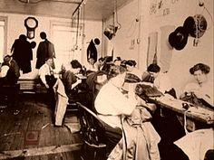 Workers At Triangle Shirtwaist Factory History