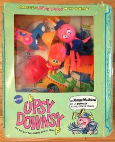 Vintage 1969 Mattel Upsy Downsy by gregg_koenig, via Flickr. I loved playing with these!!!!!