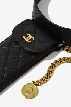 Vintage Chanel Quilted Leather Belt Bag - Accessories | Chanel | Vintage Chanel | Vintage Chanel | Vintage Chanel | Vintage Chanel | Accessories | All