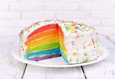 Dúhová torta
