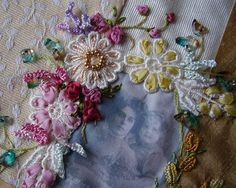 I ❤ crazy quilting, beading & ribbon embroidery . . . Beautiful CQ ~By crazyqstitcher