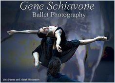 Irina Perren and Marat Shemiunov, Principals, Mikhailovsky Ballet;  photo: Gene Schiavone