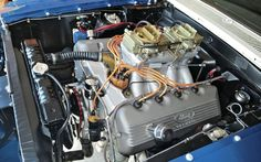 1969 Ford Mustang Sohc Engine Bay