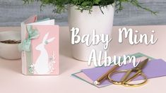 How to Make Baby Mini Album - Sizzix Lifestyle