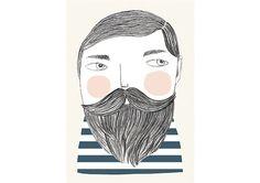 Bearded - Ilustración
