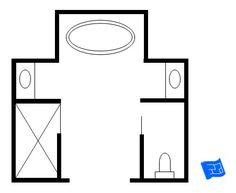 bathroom and closet floor plans | ... Bathroom Plans/Free 9x13 ...