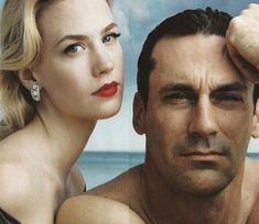 John Hamm & January Jones - Mad Men