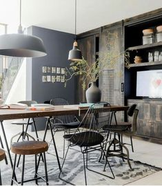 Loft Style Interior - seen in Casa Vogue Brazil