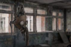 15 fotos sobrecogedoras del interior de la zona de exclusión en Chernóbil