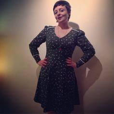 #memademay15 #day31 Último dia! Meu vestido fofo de corações./ Last day! Wearing my cute heart dress. ❤️✂️ #mmmay15 #francinelacerda #sewing #costura #handmadewardrobe #francinelacerdapatterns