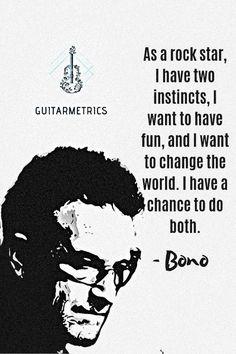 A singer-songwriter, musician, venture capitalist, businessman, and philanthropist. Rock Music Quotes, Guitar Quotes, Guitar Songs, Acoustic Guitar, Guitar Girl, Cool Guitar, Electric Guitar Lessons, Bono U2, Guitar Drawing