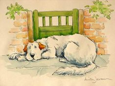 From the book 'The Most Obedient Dog in the World' by Anita Jeram