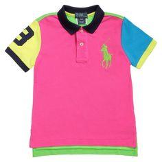 Boys Cotton Polo T-shirt 55.00 £ - Ralph Lauren