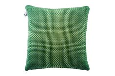 Simon Key Bertman Textile Design & Art - RGB GREEN - CUSHION COVER