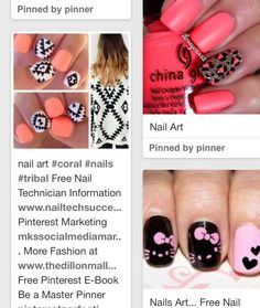 Top 20 nail designs on pinterest nails pinterest nail cute designs prinsesfo Images