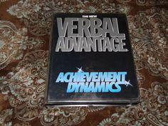 The New Verbal Advantage: Achievement Dynamics (12-Cassette Program, 1988)