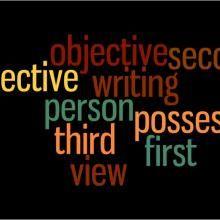 You probably know what it means to write in the first person, but you may not be as confident about using the second- or third-person point of view. Today we're going to focus on each of these three points of view. In grammatical terms, first person, second person, and third person refer to