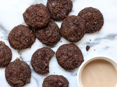 Muscovado Cocoa Chip Cookies : Molasses-heavy muscovado sugar and intense bittersweet chocolate create an insanely fudgy texture in these craveworthy cookies. The secrets to perfecting these cookies are: Avoid overmixing the dough; and, to avoid overcooking, bake it straight from frozen and pull the cookies from the oven when they're almost underdone.