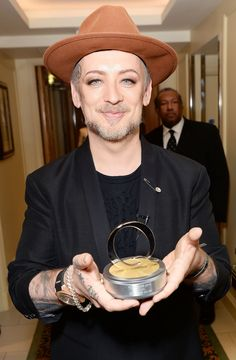 Fashion pioneer and all round honest chap Boy George's birthday falls in the month of June. #Monthofpearl #Jerseypearlloves