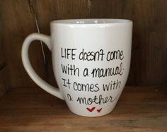 Just breath mug inspirational mug funny by simplymadegreetings