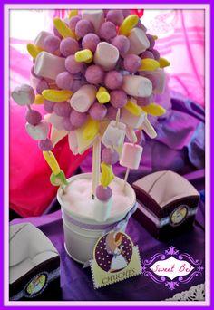 Sweet Bel, mi rinconcito dulce: COMO HACER UN ARBOLITO Y CAJITAS PARA CHUCHES