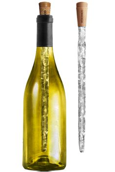 Corkcicle Wine Chiller Product, offered at Parducci's tasting room! Lose the bucket! Tech Gadgets, Cool Gadgets, Online Wine Shop, Gourmet Recipes, Drink Recipes, Wine Chiller, Wine Parties, Wine Time