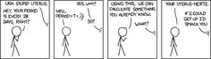 For when your uterus hurts. #endometriosis #endosucks From XKCD: https://xkcd.com/594/