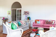 """""""I love how happy this home makes me feel. It is light and airy, colourful and comfortable."""""""