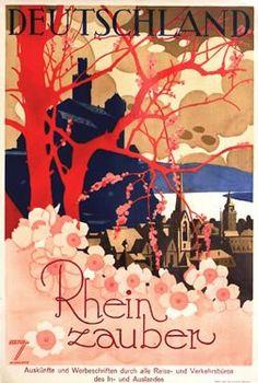 Rhine magic (1929) by Susanlenox, via Flickr