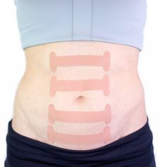 The purpose of the TogetherTape™ is to aid in healing a diastasis recti. The tape works in conjunction with the Diastasis Rehab Splint® to speed up the process for closing a diastasis recti. If for some reason. Diastasis Recti Repair, Hernia Repair, How To Reduce Tummy, Umbilical Hernia, Kinesiology Taping, Belly Fat Burner, Workout For Flat Stomach, Belly Exercises, Mummy Tummy
