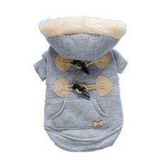 Trendy Toggle Dog Coat for Dog Jacket Cozy Dog « Pet Lovers Ads 81b399af40f96