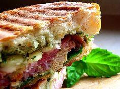 Chicken Salami Sandwich    Chai   Pune