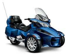 Spyder RT: Luxury 3-Wheeled Motorcycling from Can-Am | Can-Am Roadster