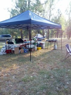Tips for Tent Camping in Hot Weather