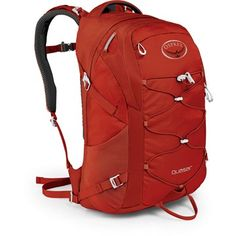 backpacking with Osprey's Quasar.